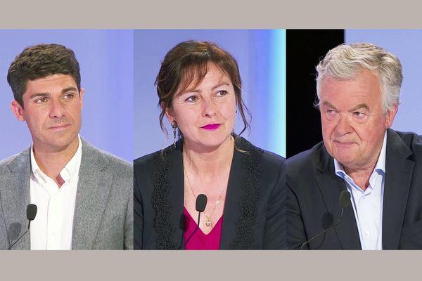 Carole Delga (PS), largement en tête du premier tour des élections régionales en Occitanie, Aurélien Pradié (LR) et Jean-Paul Garraud (RN) sont qualifiés pour le scrutin du 27 juin 2021.