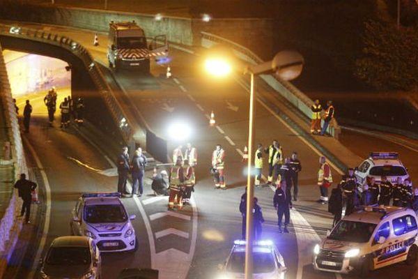 La fusillade mortelle a eu lieu entre deux voitures au niveau du tunnel du Prado-Carénage à Marseille.