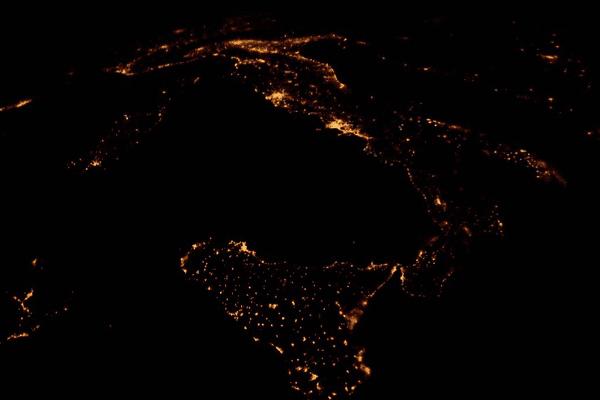 11/02/15 - La Corse vue de la Station spatiale internationale (ISS)