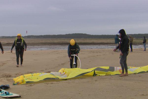 La baie de Bonne anse, un spot réputé pour le kitesurf.