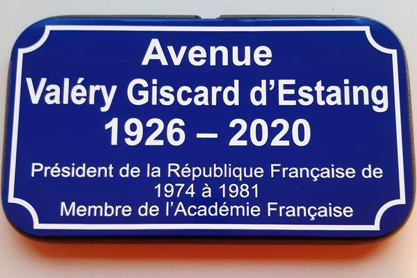 L'avenue Valéry Giscard d'Estaing va remplacer le boulevard Ambroise Paré à Amiens.