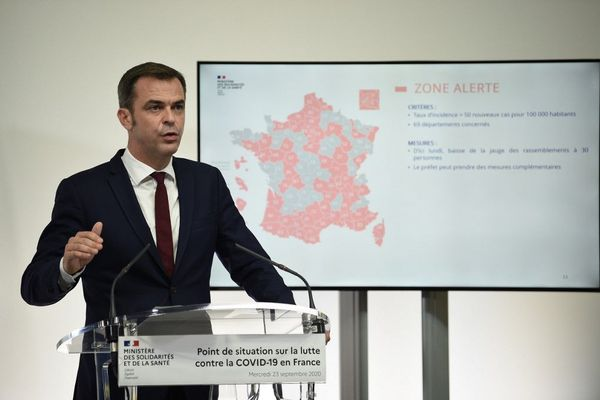 Mercredi le ministre de la Santé, Olivier Veran a présenté la nouvelle classification des départements en fonction de l'intensité de l'épidémie. Quatre niveaux d'alerte sont dorénavant établis, la Corse est placée en zone d'alerte.