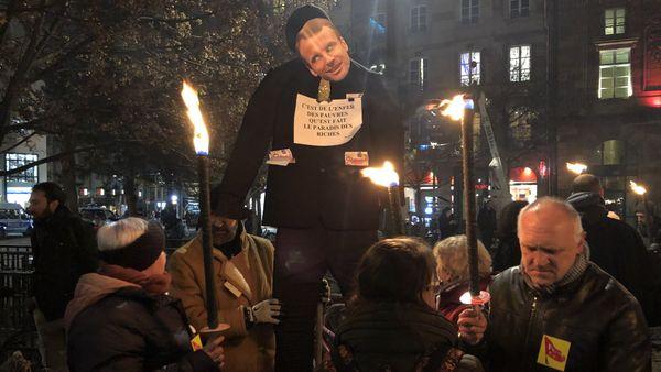 Plusieurs centaines de manifestants ont défilé à Strasbourg contre la réforme des retraites.
