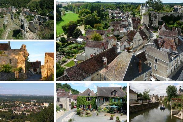 6 des plus beaux villages de Centre-Val de Loire vus du ciel
