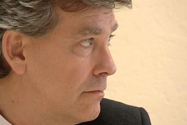 Arnaud Montebourg en campagne dans l'Hérault en décembre 2016