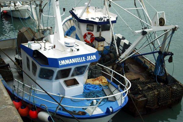 Bateaux de pêche à Cherbourg.