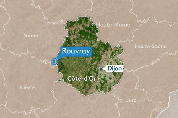 C'est sur la commune de Rouvray qu'un accident a eu lieu ce lundi.