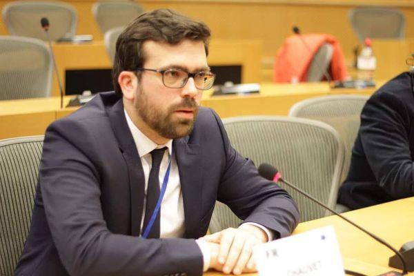 Vincent Chauvet, maire d'Autun (MoDem) et membre du Comité européen des régions.