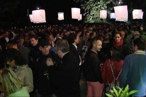 A l'issue du concert d'ouverture, le public des Musicaves est convié à une dégustation des vins de Givry