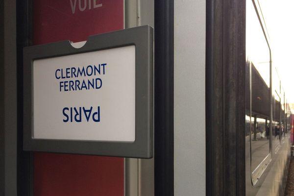 les trains entre Clermont-Ferrand et Paris perturbés pendant le pont de l'Ascension