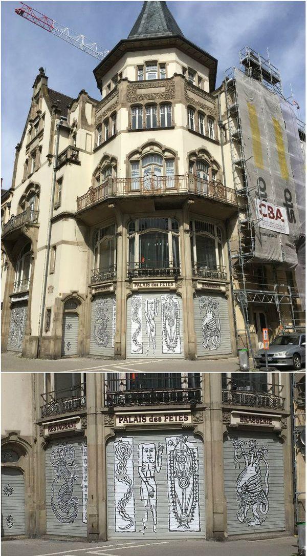 Le Palais des Fêtes de Strasbourg a marqué l'arrivée de l'art nouveau en Alsace.