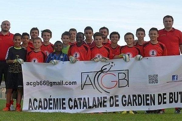 Les jeunes gardiens viennent de différents clubs du département des Pyrénées-Orientales.