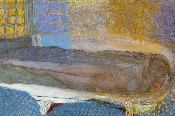 Nu dans le bain de Pierre Bonnard au Musée d'art moderne de la ville de Paris