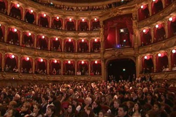Hier, l'opéra de Nice