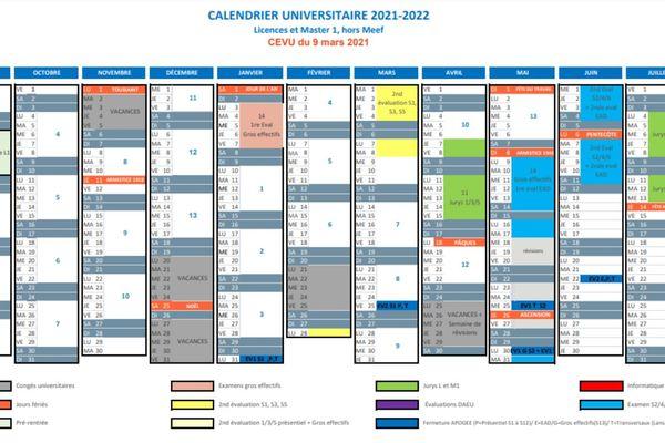 Calendrier Trail 2022 France Montpellier : le nouveau calendrier de l'Université Paul Valéry