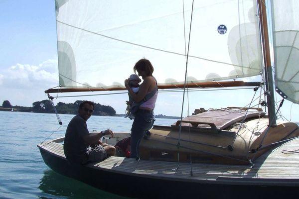 Alain Gautier et sa petite famille