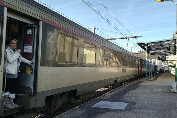 Train bloqué à 7h ce mercredi 26 décembre à Saint-Sulpice-Laurière