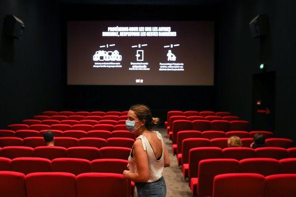 Illustration. Les salles de cinéma doivent rouvrir le 15 décembre prochain après plus d'un mois de fermeture dû à la Covid-19.