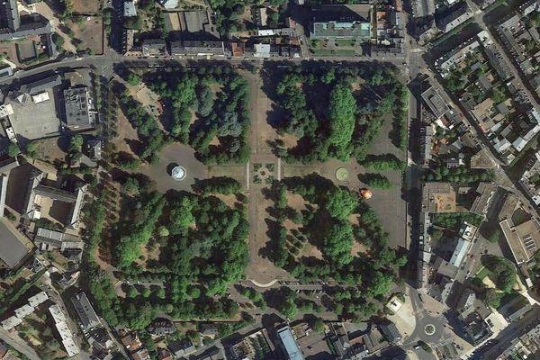 Le parc Salengro de Nevers.