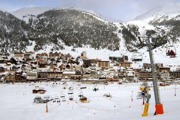 La station de ski de Montgenèvre.