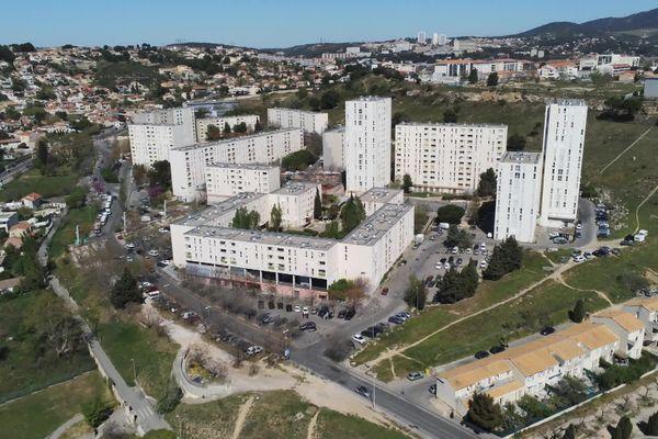 La cité de la Bricarde haut lieu de points de stupéfiants de Marseille