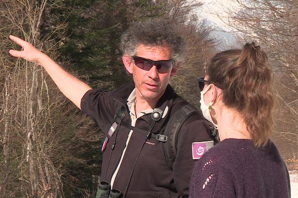 Samy Jendoubi, garde-moniteur, travaille depuis 20 ans au Parc national des Ecrins