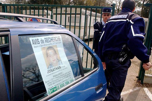 Sur la piste d'un pédophile allemand dans l'affaire Jonathan, photo d'archives du 12  avril 2004