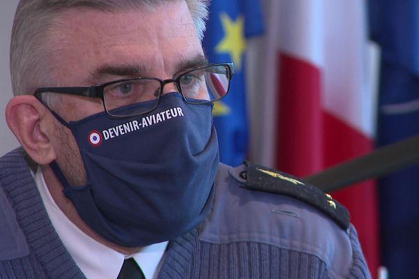 Alain Boullet, Général de Brigade Aérienne de la base aérienne de Rochefort