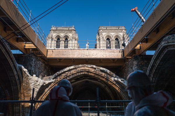 Au total, près d'un milliard d'euros seront nécessaires pour le chantier de Notre-Dame de Paris.