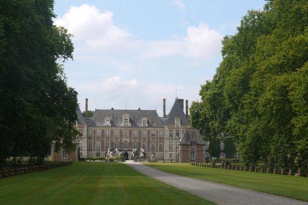 Le château de Courances, dans l'Essonne.