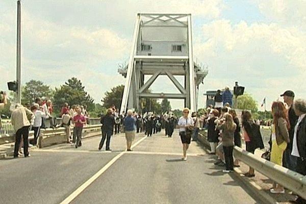 Commémoration du Débarquement sur le pont Pegasus - Archives