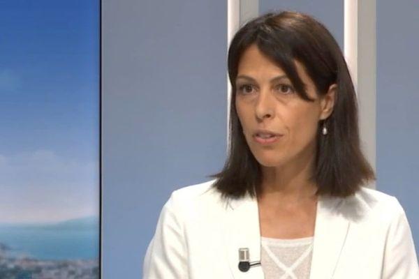 La rectrice de l'académie de Corse Julie Benetti.