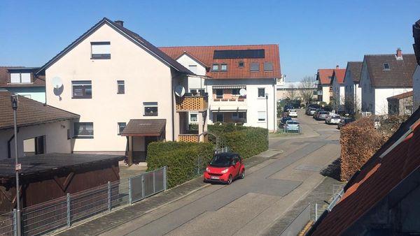 Les rues de ce quartier de Brühl sont désertes