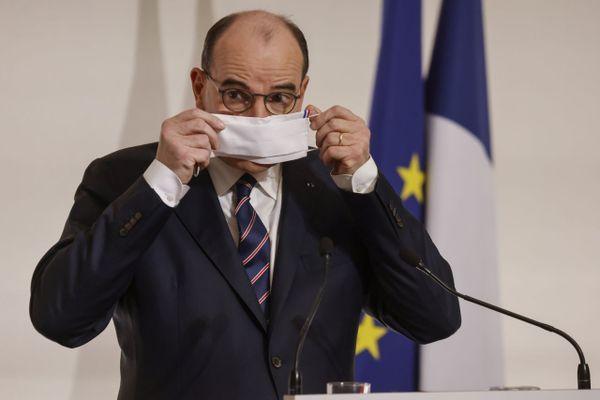 Illustration - Conférence de presse du Premier ministre Jean Castex.