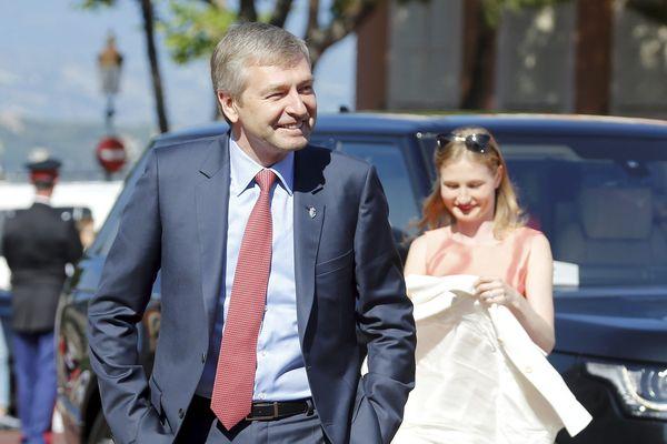 Le président russe de l'AS Monaco Dimitri Rybolovlev.
