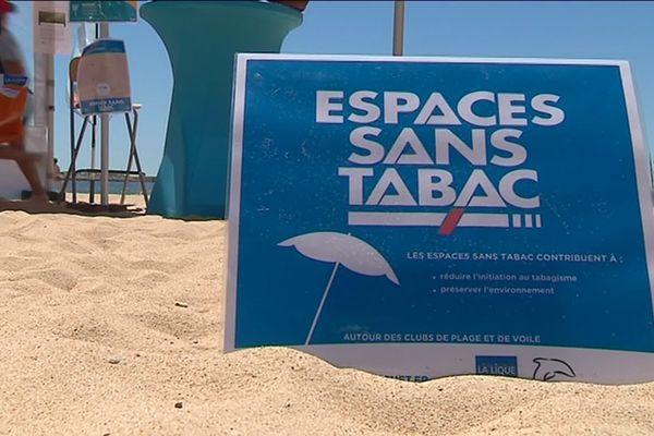 Trois plages sans tabac à Pornichet à compter du 15 juin 2019