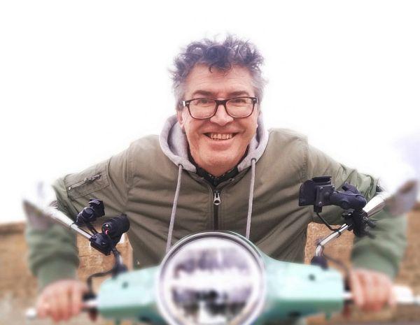 Denis Perrette est prêt à parcourir des centaines de kilomètres sur les départementales, dès le 1er juin.