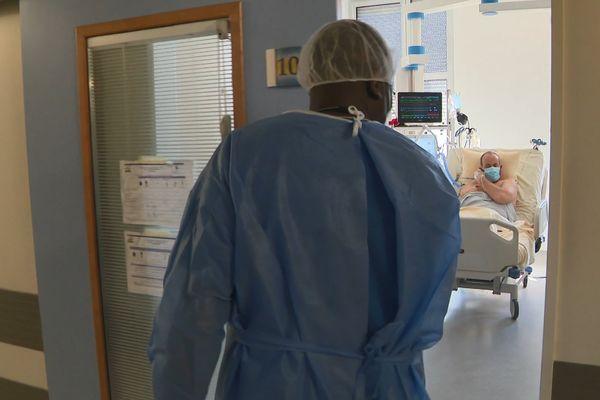 Tous les lits en réanimation sont occupés à l'hôpital de Sens, dans l'Yonne