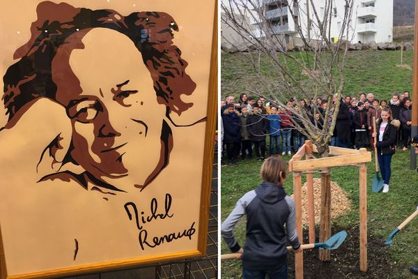 Mardi 7 janvier, un hommage a été rendu à Clermont-Ferrand aux victimes de l'attentat contre Charlie Hebdo, parmi lesquelles figurait le Clermontois Michel Renaud.