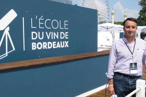 Christophe Chateau, le Commissaire Général de Bordeaux Fête le Vin