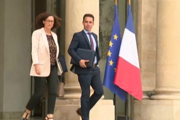 Jean-Baptiste Djebbari sortant de son premier Conseil des Ministres à l'Élysée. Sa nomination va-t-elle aider au désenclavement de Limoges ?