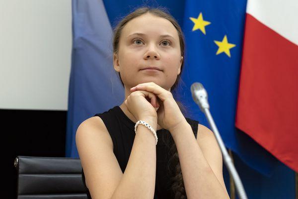 Greta Thunberg était présente à l'invitation du collectif Accélérons