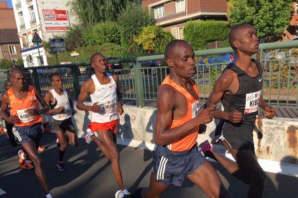 Le vainqueur de la course 2018 est Kenyan.