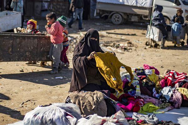 Camps de Al-Hol (Syrie), le 14 janvier 2020.