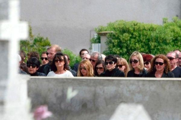 Les proches de Jo Sisti et Jean-Louis Chiodi, lors d'une marche silencieuse le 28 avril 2012 en Corse.