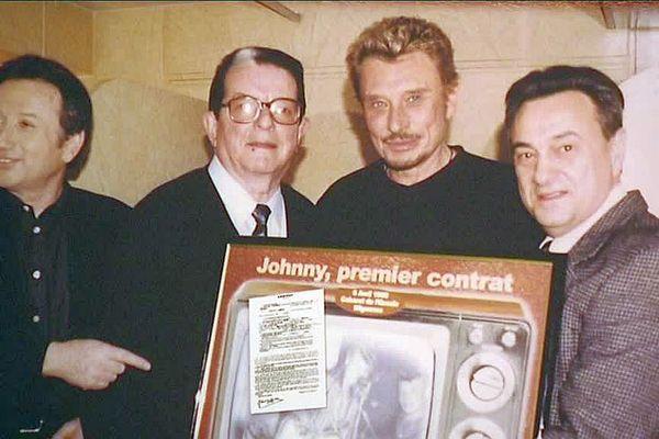 Johnny Hallyday et son premier concert à l'Escale de Migennes, que de souvenirs !