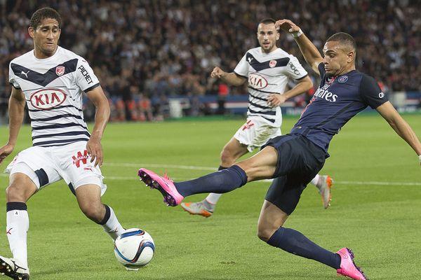 Lors du match Bordeaux/PSG, le 11 mai 2016.