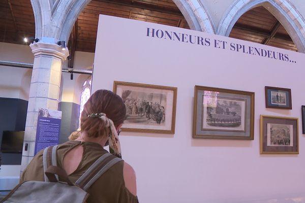 """Visite de l'exposition """"Et Eugénie créa Biarritz, Ville Impériale..."""""""