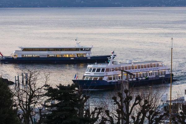 Des bateaux de la CGN sur le lac Léman - Photo d'illustration