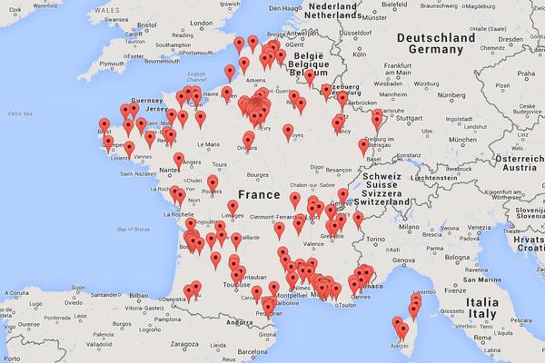 09/12/14 - L'association Transparency met en ligne une carte de la corruption en France